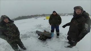 Зимняя Рыбалка на Савозеро. Разведка озера. ловим на жерлицы.