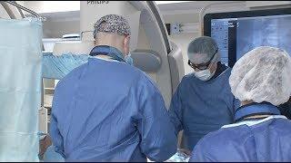 В Уфе показали новую технологию лечения сосудов брюшной аорты