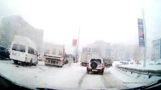 Уфа - Сипайлово - авария на спуске (последствия)