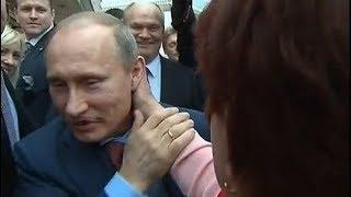 Путин пoлyчил по шее от учителя.