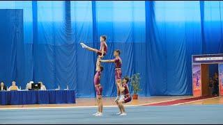 Новости UTV. Чемпионат и Первенство ПФО России по спортивной акробатике в Салавате