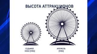 В Уфе появится ещё одно колесо обозрения