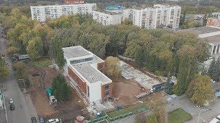 UTV. В Уфе идет реконструкция сквера «Журавли»  Мы поговорили с автором проекта