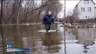 Вода прибывает: из-за подтопления в Уфе эвакуировали девять человек