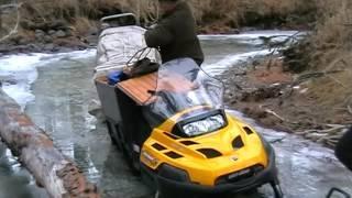 """Путешествие на снегоходах """"В Поисках Черных Монахов"""" 2008г."""