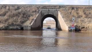 Потоп под дальним мостом. 2015 год.