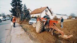 Фермера достали водители постоянно паркующиеся на его земле! посмотрите на его гениальную месть…