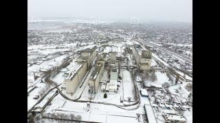 Усть-Лабинск, Кубанская зима. 9 февраля 2020
