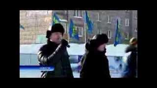 Торжественное открытие хоккейной коробки в Благовещенске РБ (Видео предоставил тк ТВ Блик)