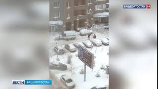 В Уфе мужчина выпал с 13 этажа дома по улице Чернышевского