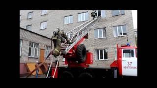 """В Гимназии №1 случился """"пожар"""""""