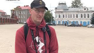 Популярный путешественник, блогер Иван Ширяев приехал в Бирск. Это 638-й город на счету Ивана