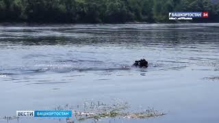 В Уфе мужчина утонул, пытаясь спасти свои сланцы: ВИДЕО