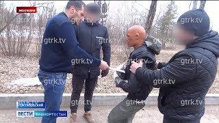 В Башкирии зарезавший бывшую жену мужчина показал, как убивал жертву изготовленным им ножом