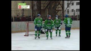«Салават Юлаев» провел матч против детских команд на открытом воздухе