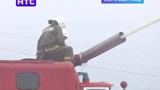 Пожарные города провели испытания опорного пункта тушения крупных пожаров