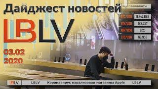 LBLV Коронавирус парализовал магазины Apple 03.02.2020