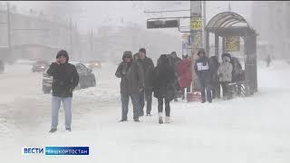 В ГИБДД Башкирии из-за ухудшения погодных условий водителей призвали снизить скорость