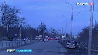 УФСБ опубликовала полное видео подрыва машины уничтоженного боевика в Уфе