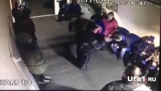 Драка в «Уфа-Арене» попала на видео