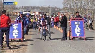 В Кушнаренково прошли соревнования по велоспорту на шоссе.