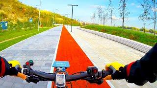 Электровелосипед 1500w своими руками по городу  / Покатушка / Уфа