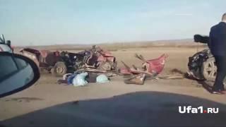 Страшная авария в Башкирии: погибли два человека