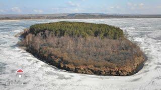Аэросъемка озера Кандрыкуль (Туймазы, Республика Башкортостан)