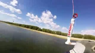 Assly-kull Lake Kitesurfing | Кайтсерфинг  в камышах на озере  Аслыкуль