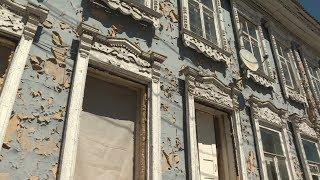 Еще одно историческое здание в Уфе постепенно превращается в приют для бездомных