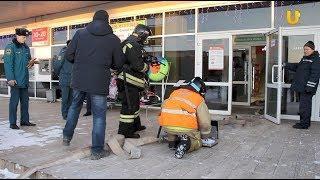 Новости UTV. Пожарно-тактические учения на городском рынке