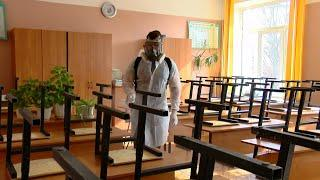В Ивантеевке началась дезинфекция образовательных учреждений