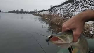 Щука в мороз -5 ❌ Рыбалка на спиннинг