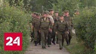 Полностью снят режим ЧС под Ачинском - Россия 24