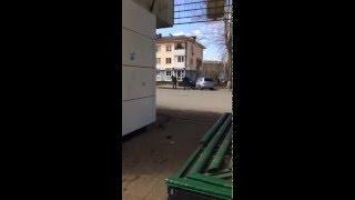 Драка в г.Уфа Демский район остановка ОРИОН
