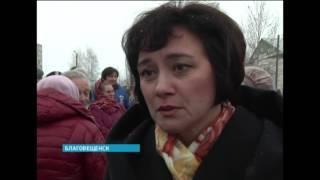 В Благовещенске открыли памятник Праведнику народов мира Николаю Киселёву