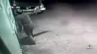 В Башкирии подожгли автомобиль