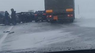 UTV  Радий Хабиров раскритиковал подчиненных за массовые аварии в Башкирии