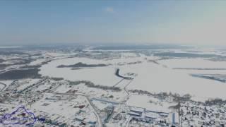 Аэросьемка на высоте 350 метров Уфимский район