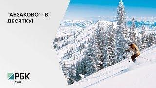 Курорт в Белорецком районе занял 3 место в рейтинге лучших зимних курортов