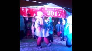 Туган як... Кумертау. Рождество 2017. Детская дискотека. Альмирчик танцует
