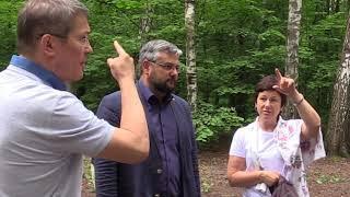 Глава г.о. Красногорск Радий Хабиров о лесах, зеленых зонах и мусоре в черте города.