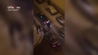 Драка водителей в одном из дворов Стерлитамака