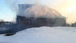 Три женщины погибли в крупном пожаре в Башкирии