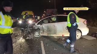 Страшная авария с погоней и пострадавшими произошла на проспекте Красоты