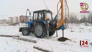В 24 микрорайоне приступили к строительству детского сада