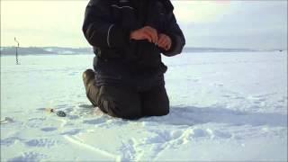 Рыбалка на озере кандры-куль. Зимнее блеснение.