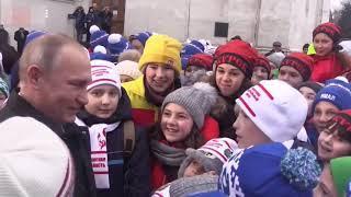 Путин, Ленин и дети