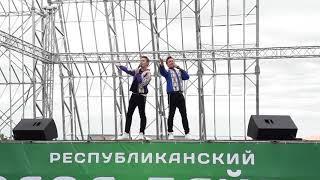 Айдар и Алмаз Юнусовы на Празднике Ураза-Байрам. Уфа-2019.