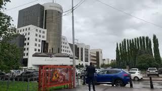 г.Уфа, ул.Чернышевского, д.100  (видео снаружи)